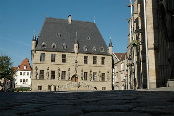 Rathaus © Stadt Osnabrück Presse- und Informationsamt