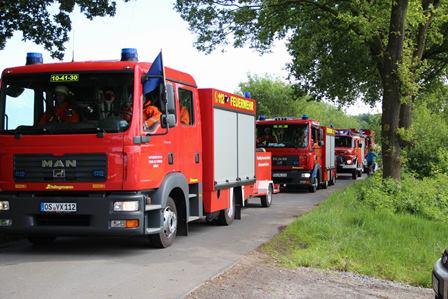 Feuerwehrübung Berge © Landkreis Osnabrück