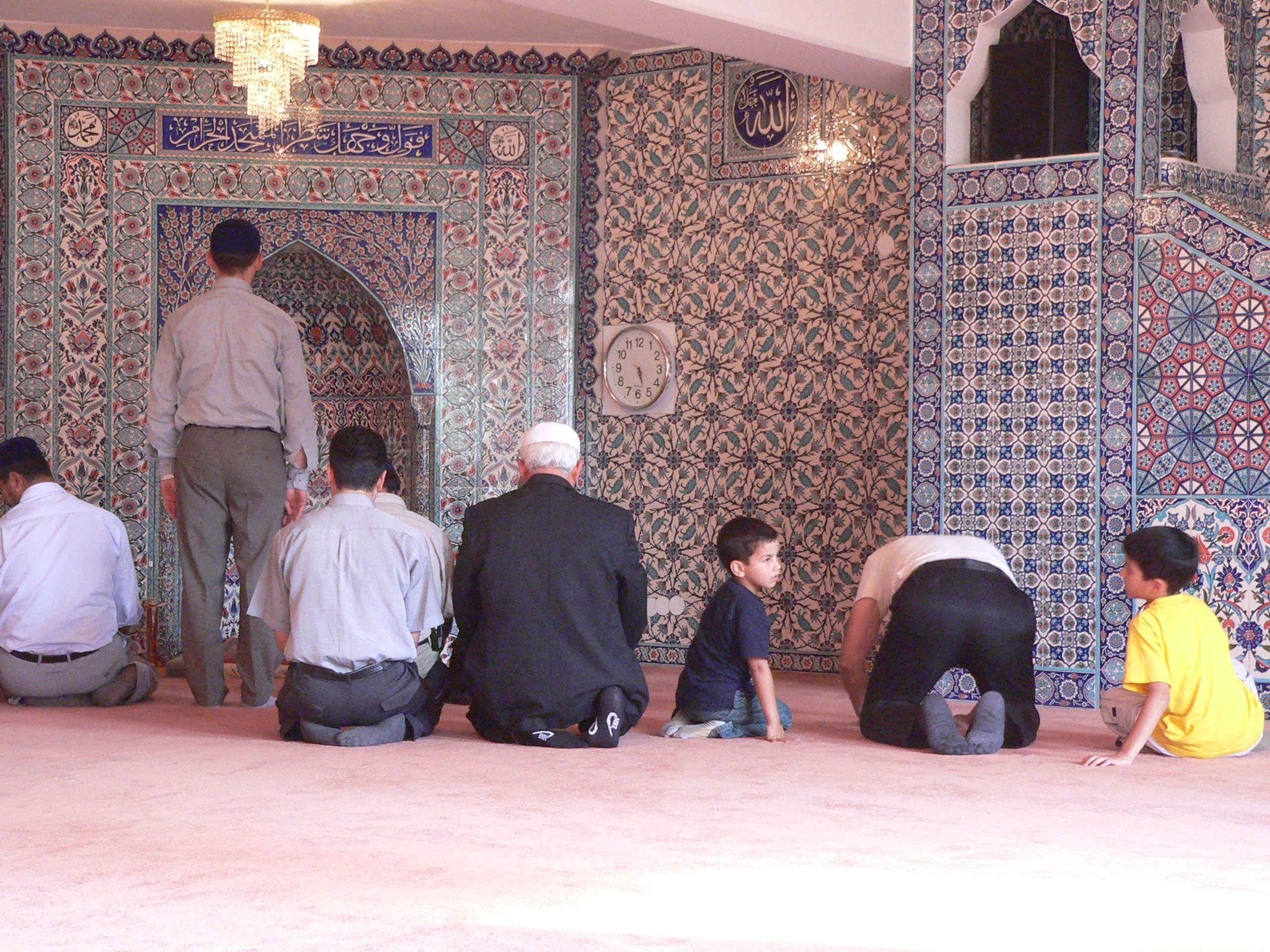 OB besucht Moschee Schützenstraße © Britt Bartel