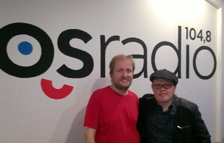 Angelo Kelly und Christian Paul © osradio