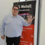 Stephan Soldanski (IG Metall) fordert fünf Prozent