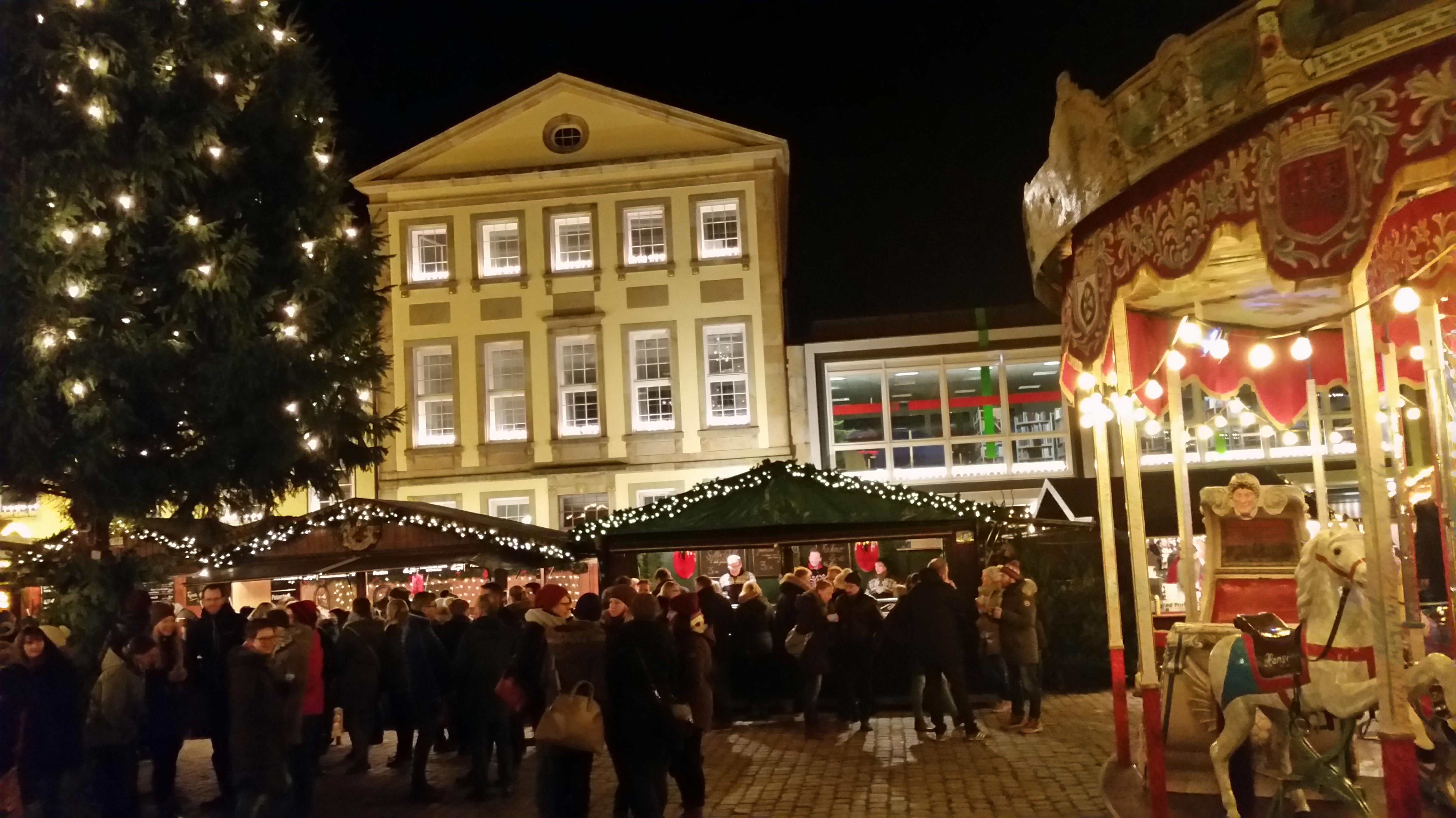 Weihnachtsmarkt Osnabrück.Am Freitag Beginnt Der Weihnachtsmarkt In Osnabrück Os Radio 104 8
