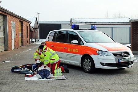 First Responder im Einsatz © FR Quakenbrück