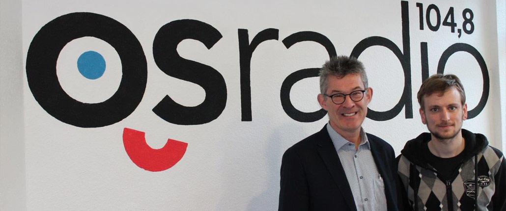 Christoph Ruthemeyer (li.) mit Moderator Sören Sölter