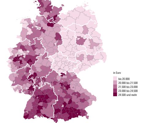 Verfügbare Einkommen - Grafik: WSI/Hans-Böckler-Stiftung