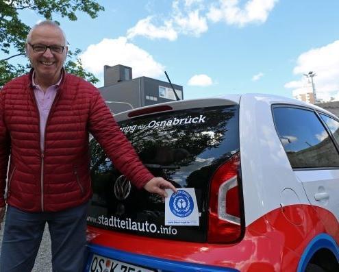 Christian Kluck, Geschäftsführer der stadtteilauto OS GmbH (© Stadtwerke Osnabrück Lea Hilling)