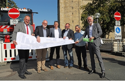 Baustart Johannisstraße Osnabrück